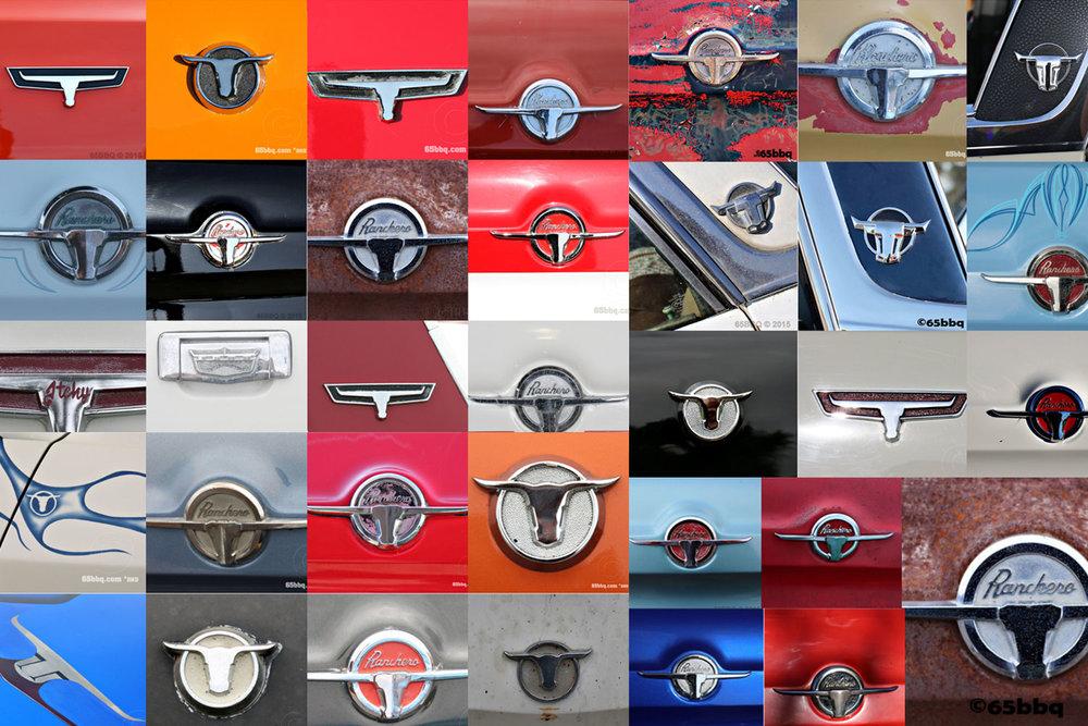 Ford Ranchero Emblems The Ranchero and the Blue Q