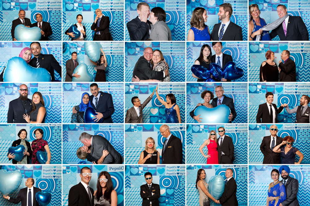 Shots from the photo booth at PepsiCo award events
