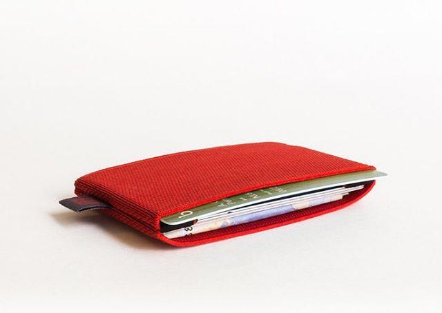 Wallet №1 in Summer Red #cardholder #wallet #slim #sporty #organised #happy #pocket
