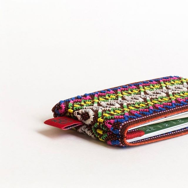 №2 calling for some sunshine #wallet #cardholder #himalayan #red #embroidery #elastic www.28deg.com/shop/2