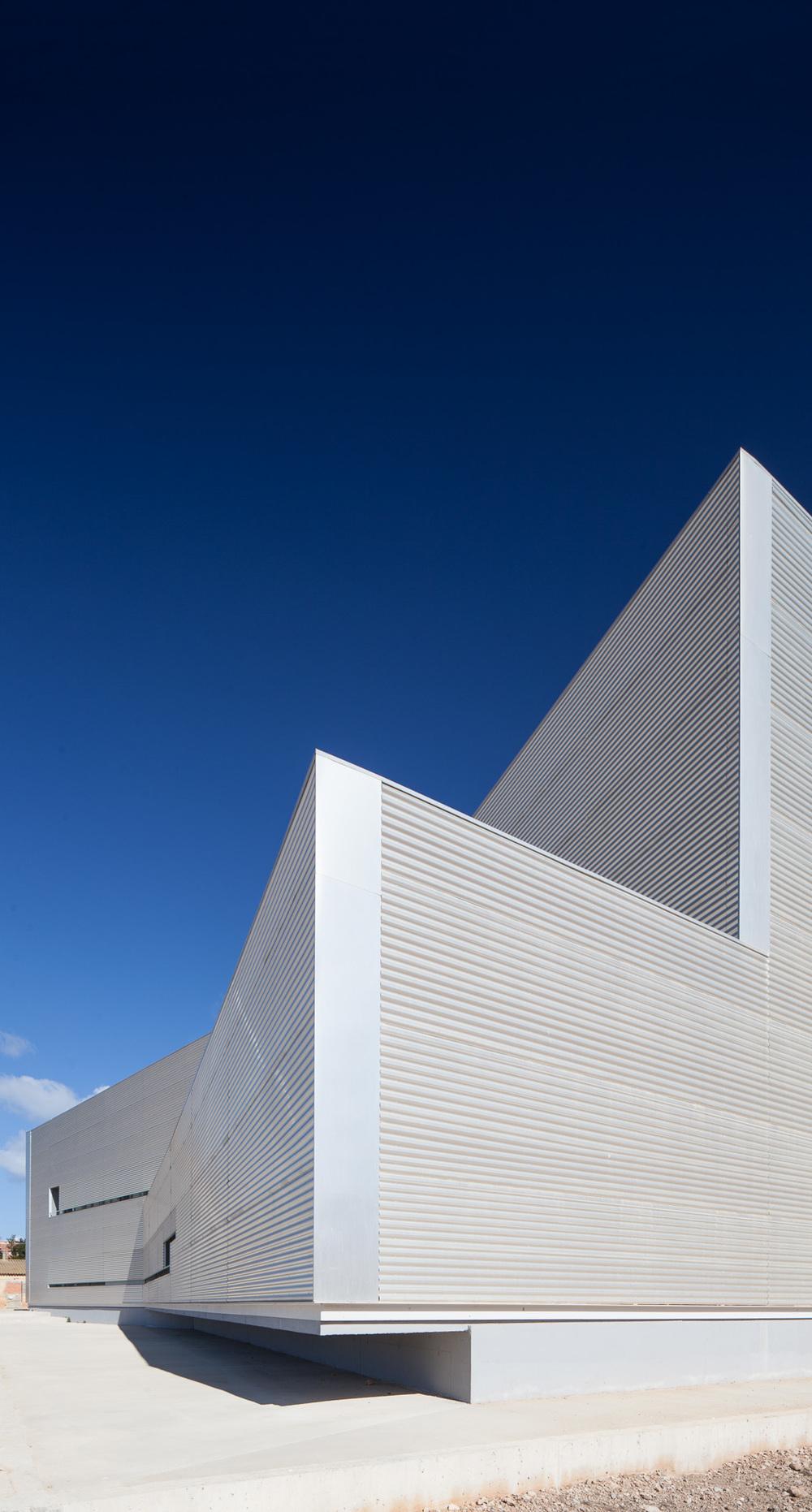South facades.