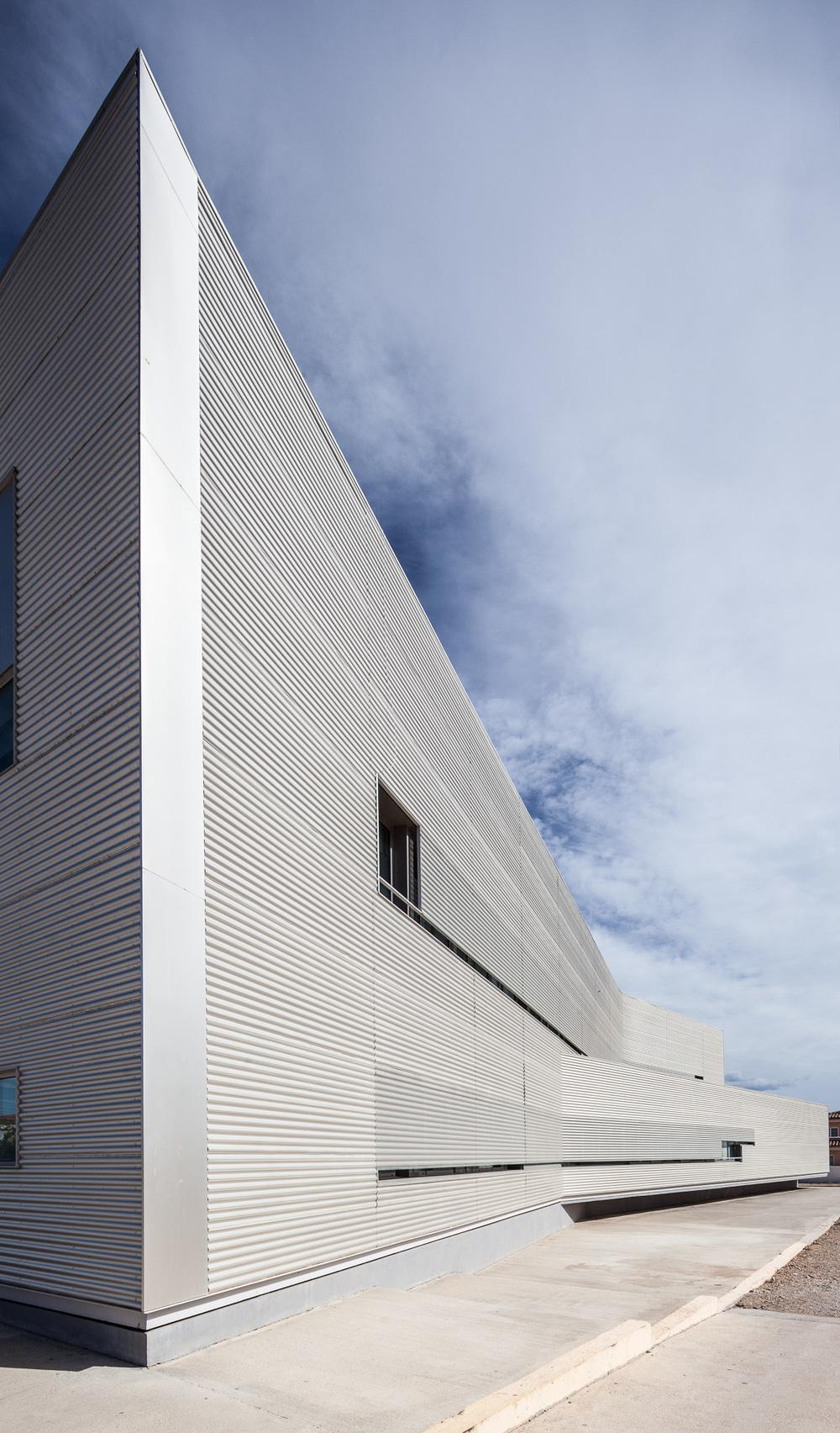 Southwest facade.