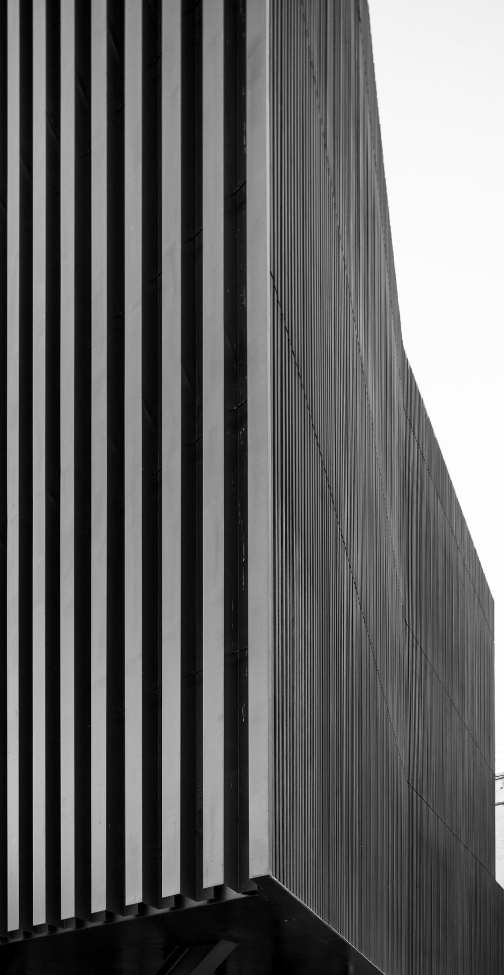 Metal mouldings in facade.