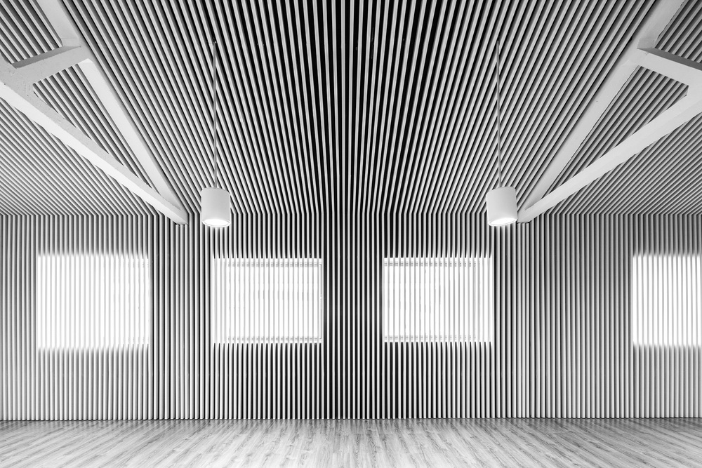 Main hall mezzanine.