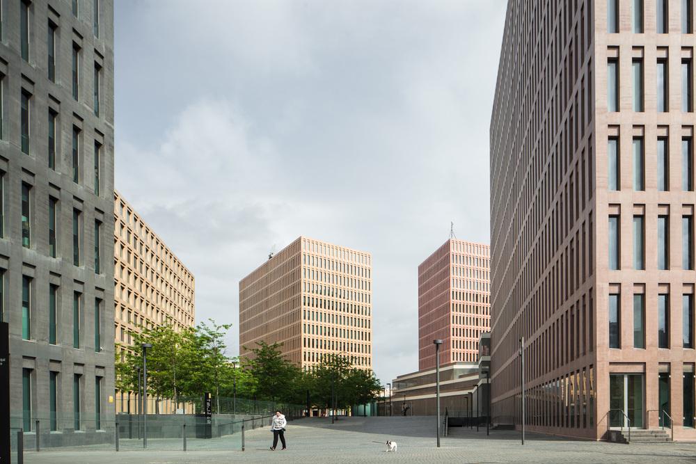 Ciutat de la Justícia de L'Hospitalet i Barcelona (David Chipperfield + b720)