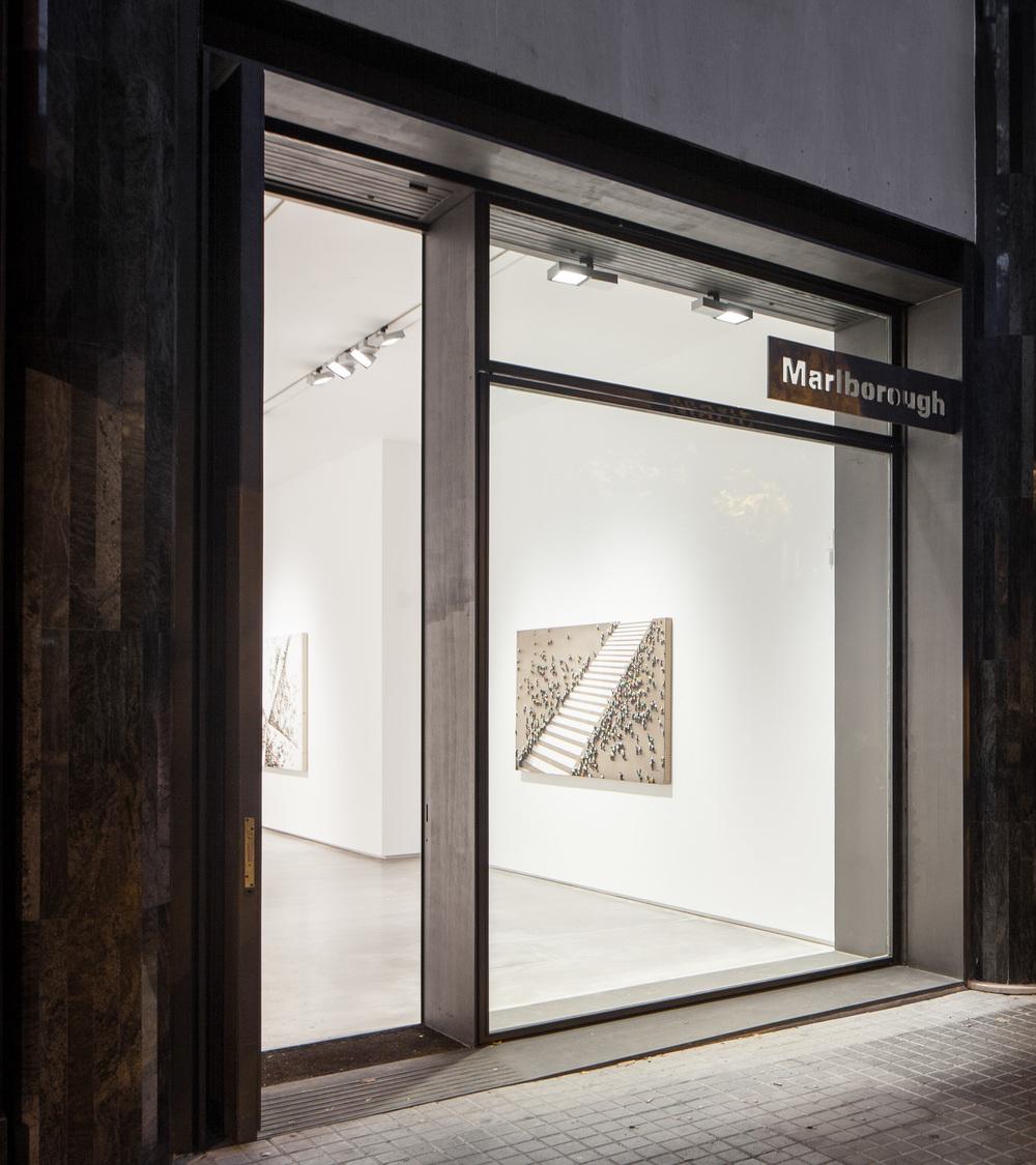 Marlborough Gallery Barcelona  (Josep Camps + Olga Felip)