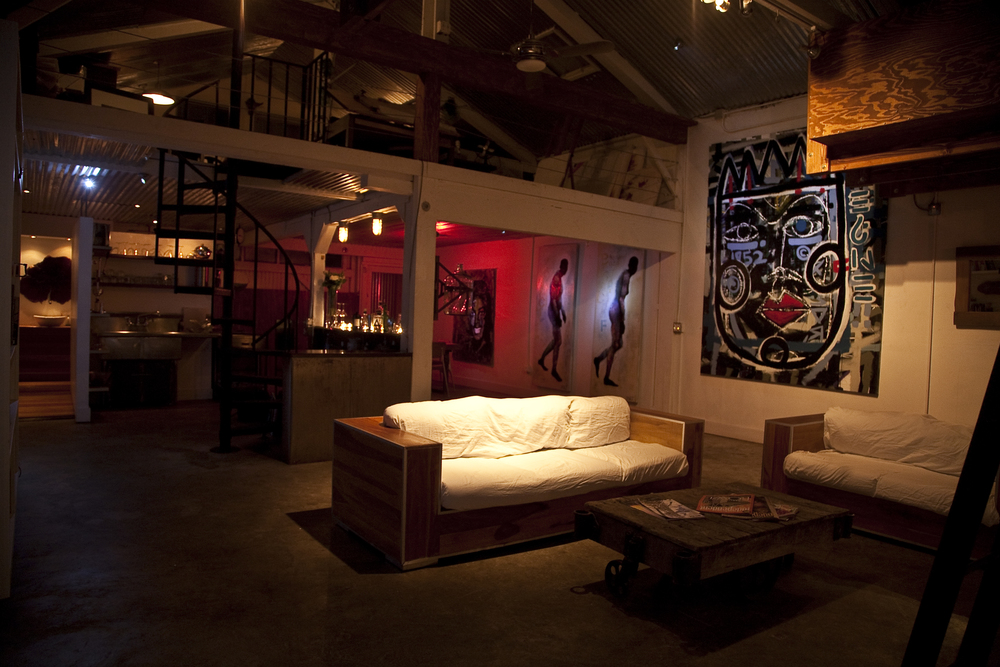 "The Loft in the historic ""Funk Zone"""