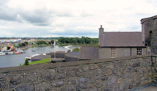 Atop King John's Castle, Athlone, Co. Westmeath