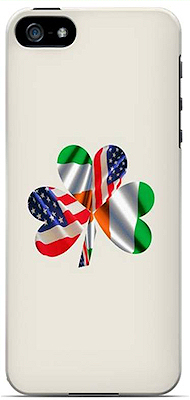 Irish American Flag Shamrock