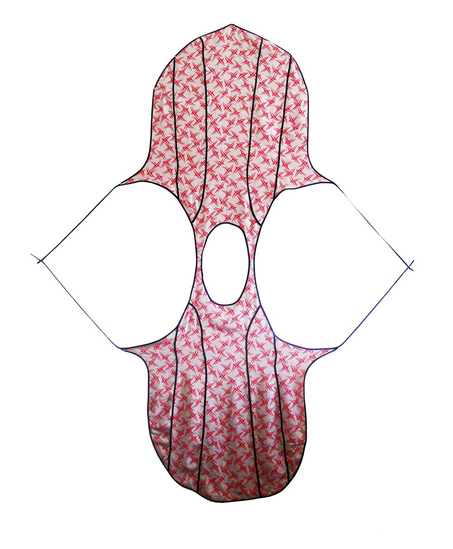 July 04, 2013, double wrap dress with bias binding.