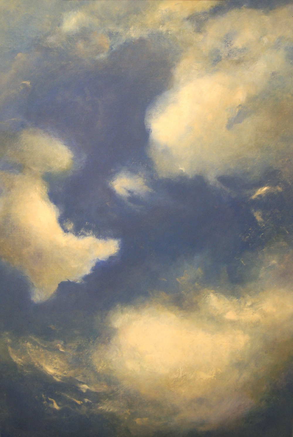 Clouds 2013, Oil on Linen (41 x 27 inch)