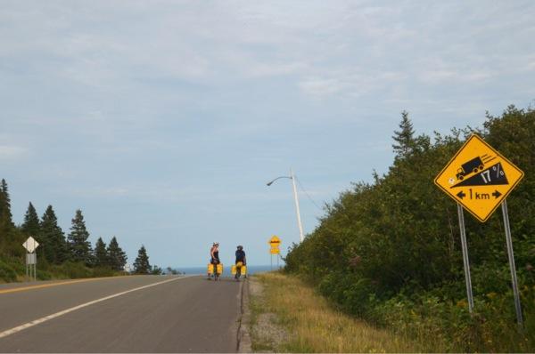 17% Grade. 2 Kilometers. Au revoir brake pads!