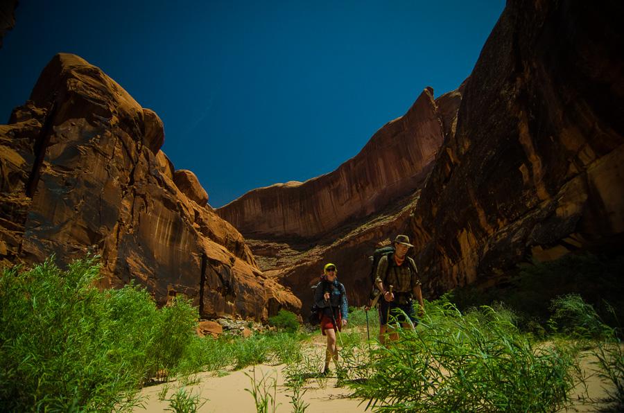Fool's Canyon, Escalante