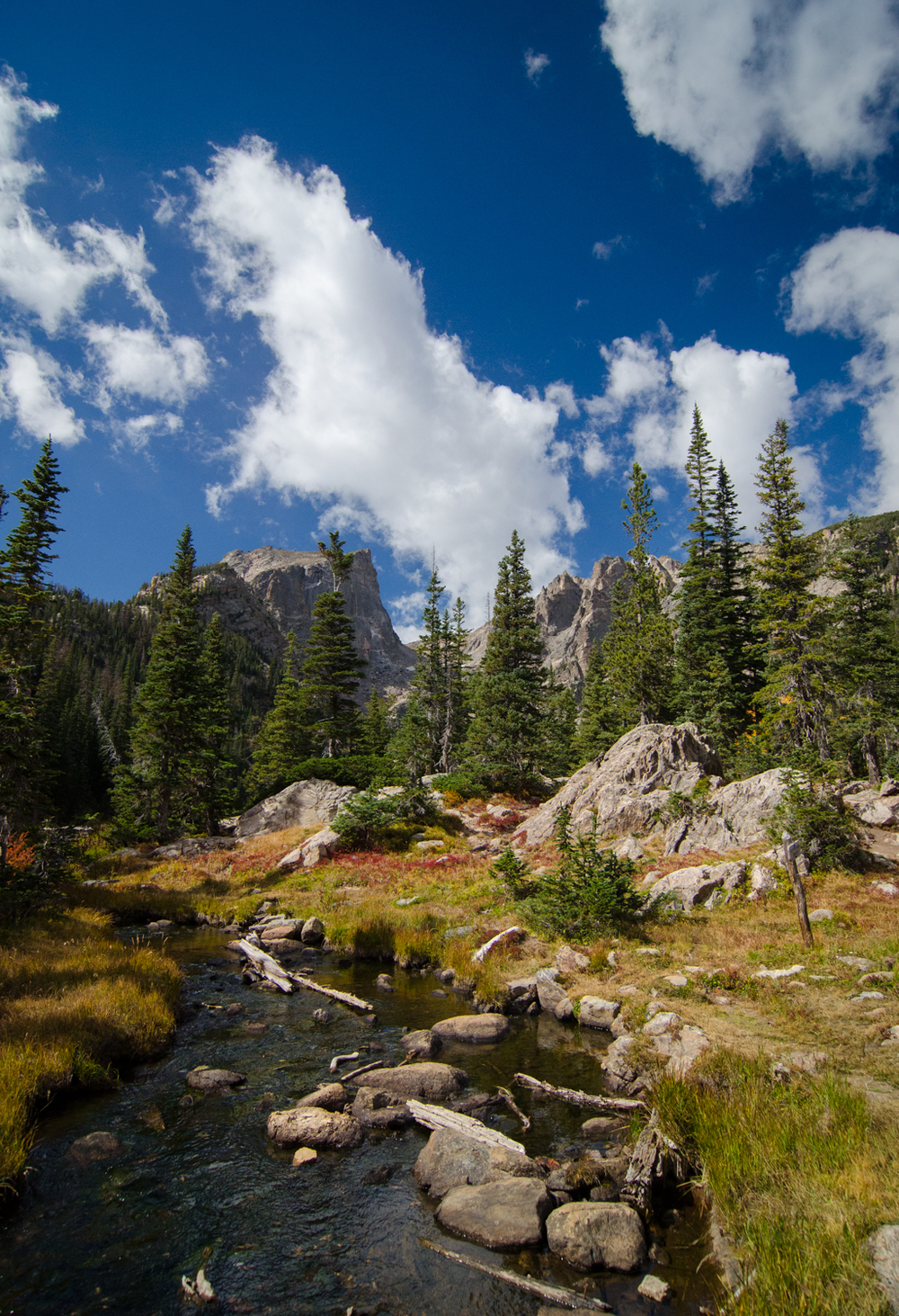 Stream flowing from Dream Lake - Rocky Mountain National Park