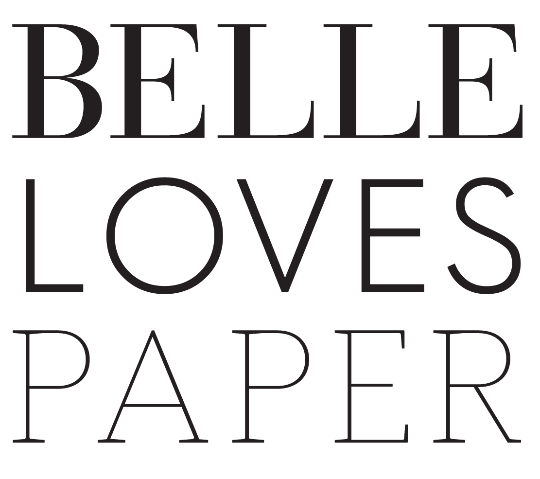 Belle Loves Paper