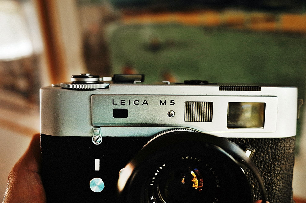 Leica M5 Front Detail