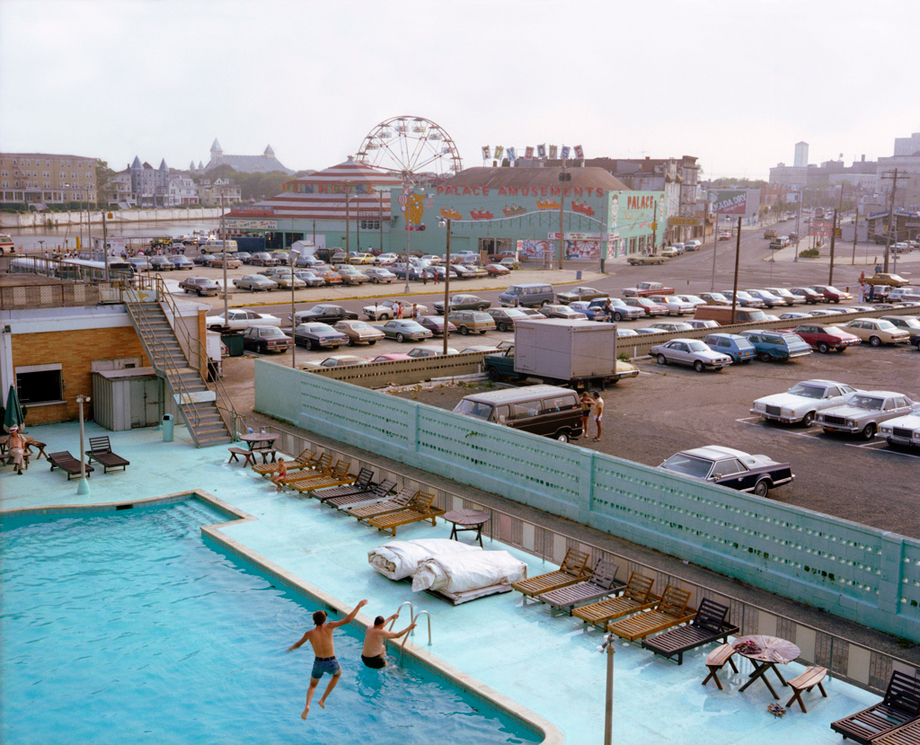 View From Empress Hotel, Asbury Park, New Jersey, 1980 Copyright Joe Maloney. Courtesy of Rick Wester Fine Art, New York.