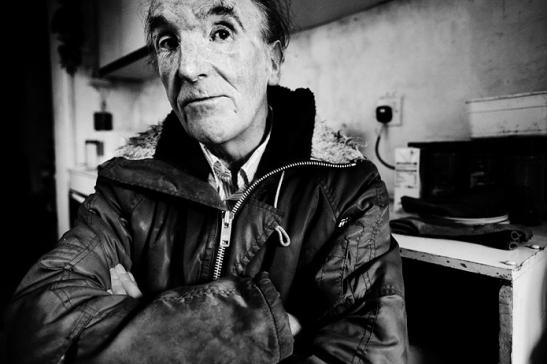 David at home: 2012: Jim Mortram