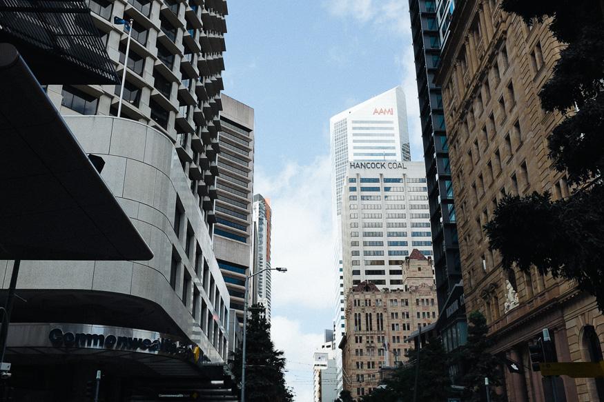 Corner Queen & Edward Streets, Brisbane Fuji X100s - VSCO Kodak Portra 800
