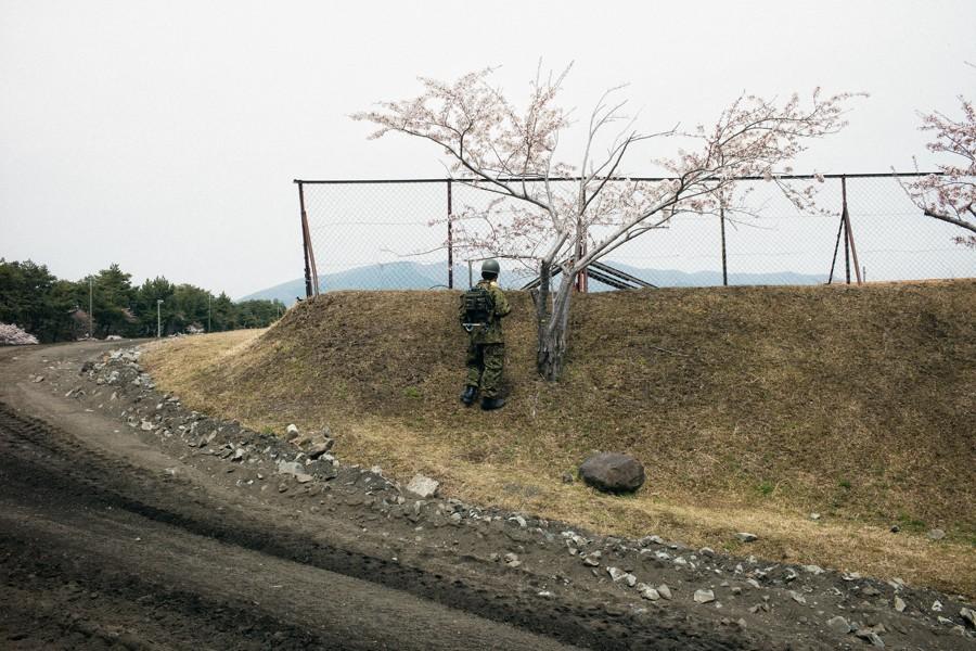 JGSDF Camp Takigahara, Gotemba, 2014