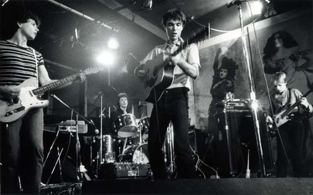 Talking Heads, CBGB, 1977