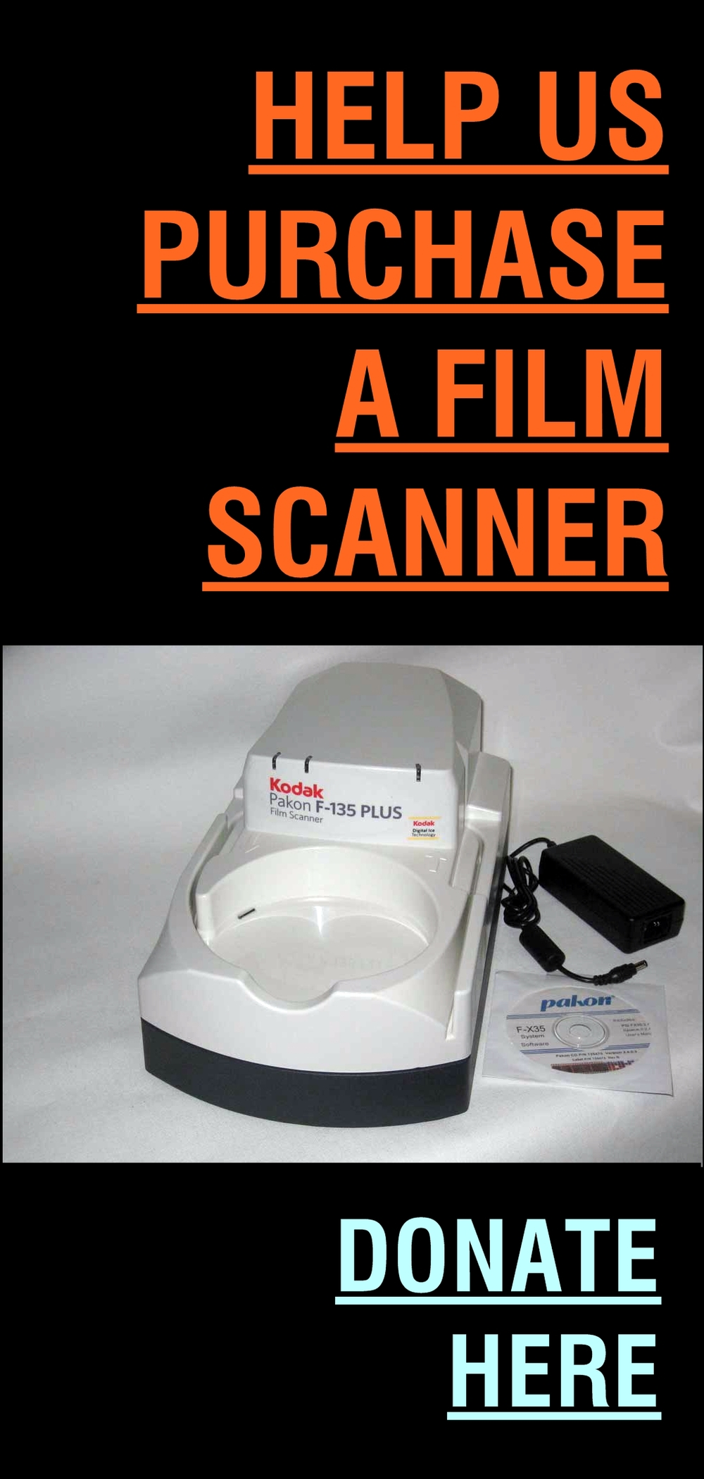 PLEASE DONATE TO THE WECC FILM SCANNER FUNDRAISER