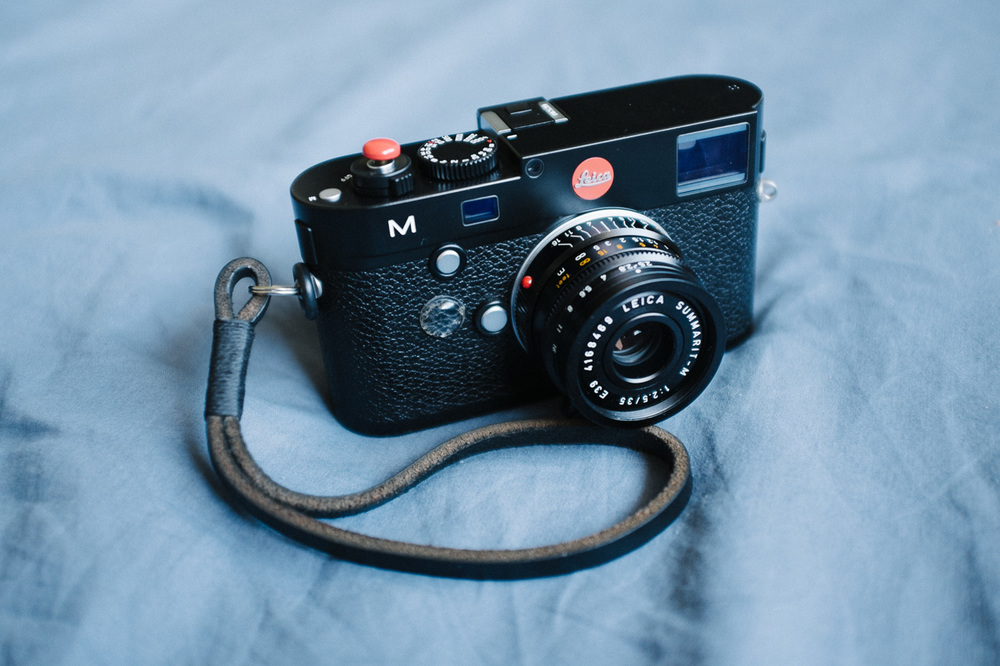 Leica M 240 + Summarit 35mm f/2.5 Gordy's Leather Wrist Strap