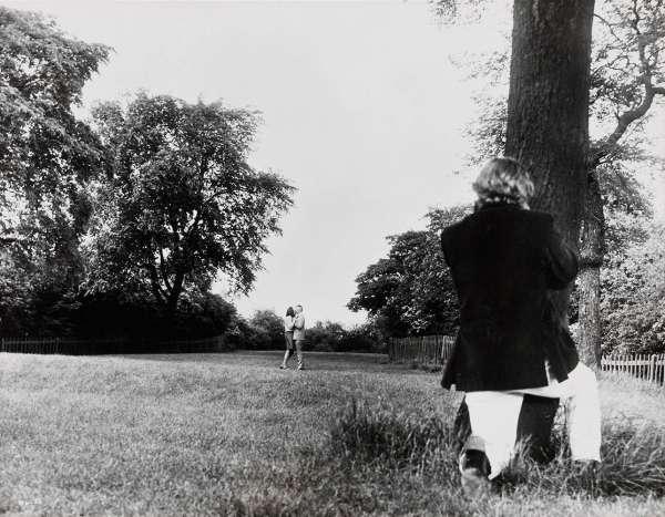David Hemmings in Blow Up (Regie: Michelangelo Antonioni), 1966 by Arthur Evans