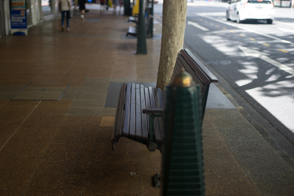 Filter blocking horizontal (seat, road and pavement)