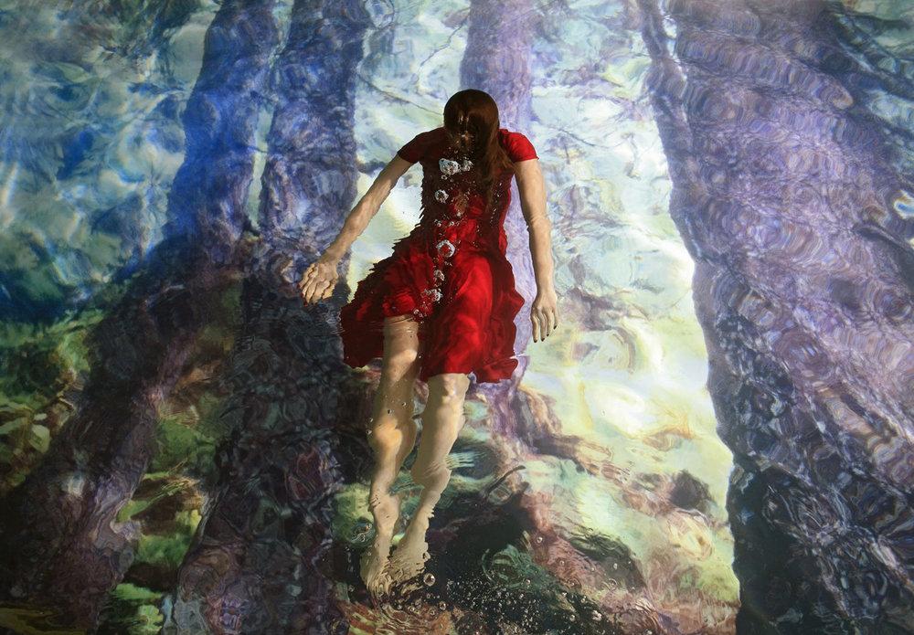 Red, 2012 C-print, 39 1/3 x 59 in. Image Susanna Majuri