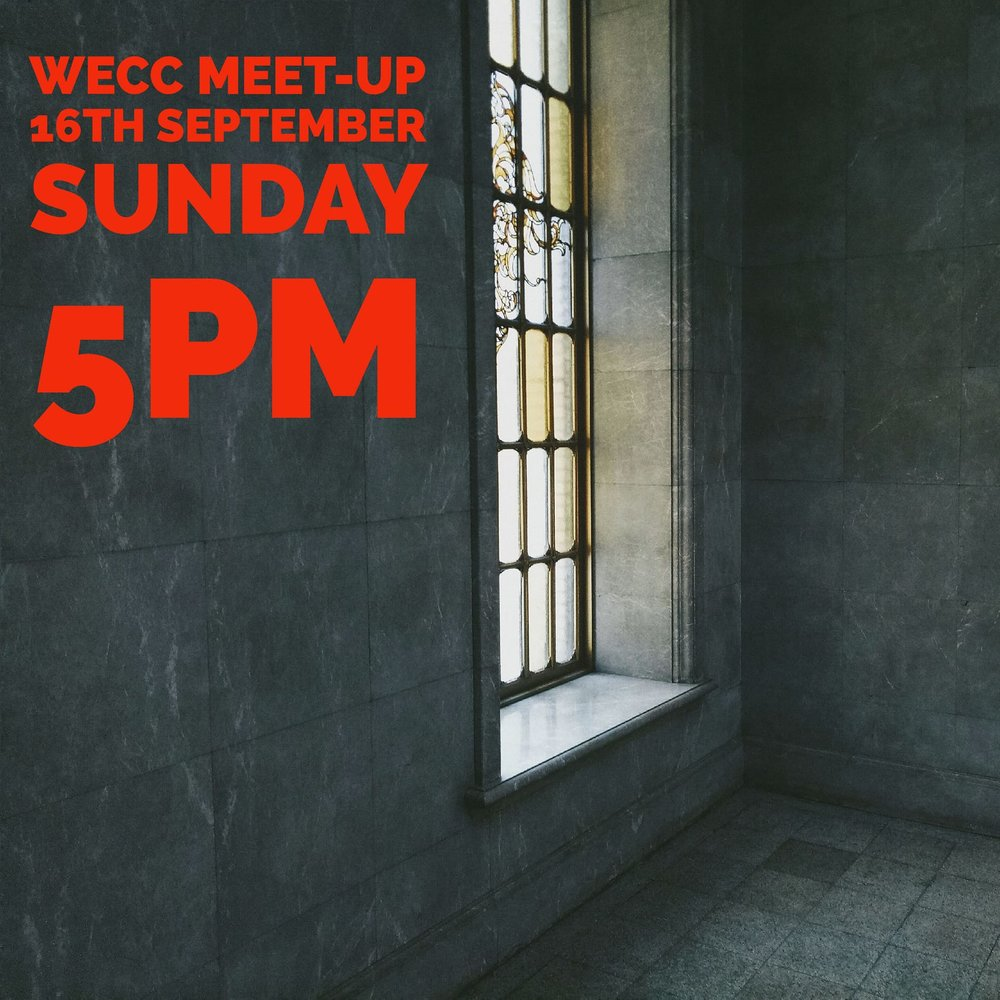 WECC MEET-UP - Saturday 16th SeptemberWandering CooksCorner of Fish Lane &, Cordelia St, South BrisbaneFOR THOSE INTERESTED5PM - 8PM
