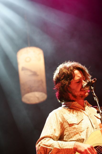 Bernard Fanning performing at The Great Escape Music Festival 2006