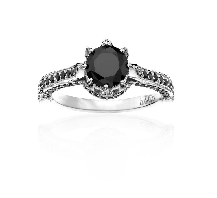 Royal Black Diamond Ring — Iz&Co
