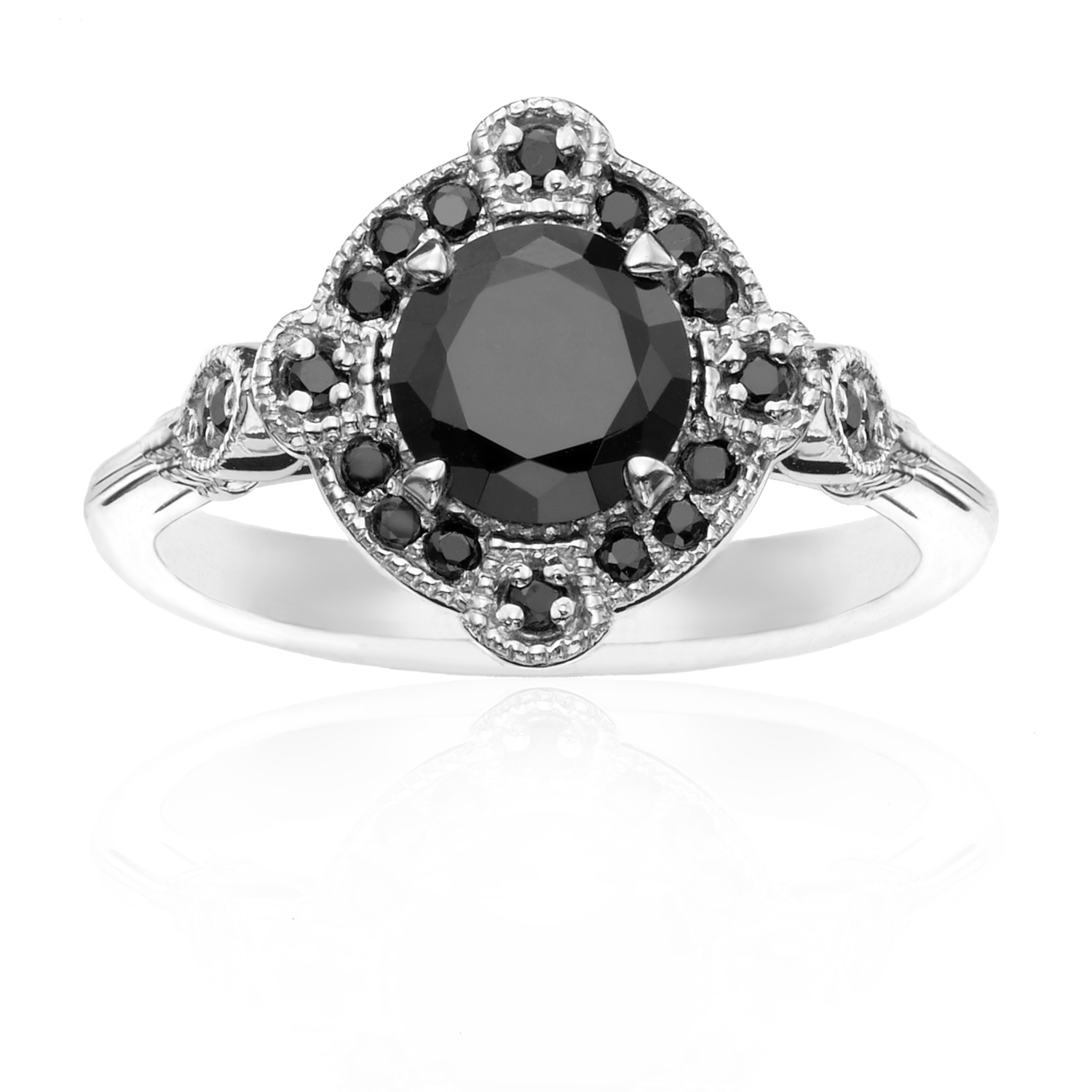 ben rings diamond black cross criss ring jeweler jewelry white bridge and