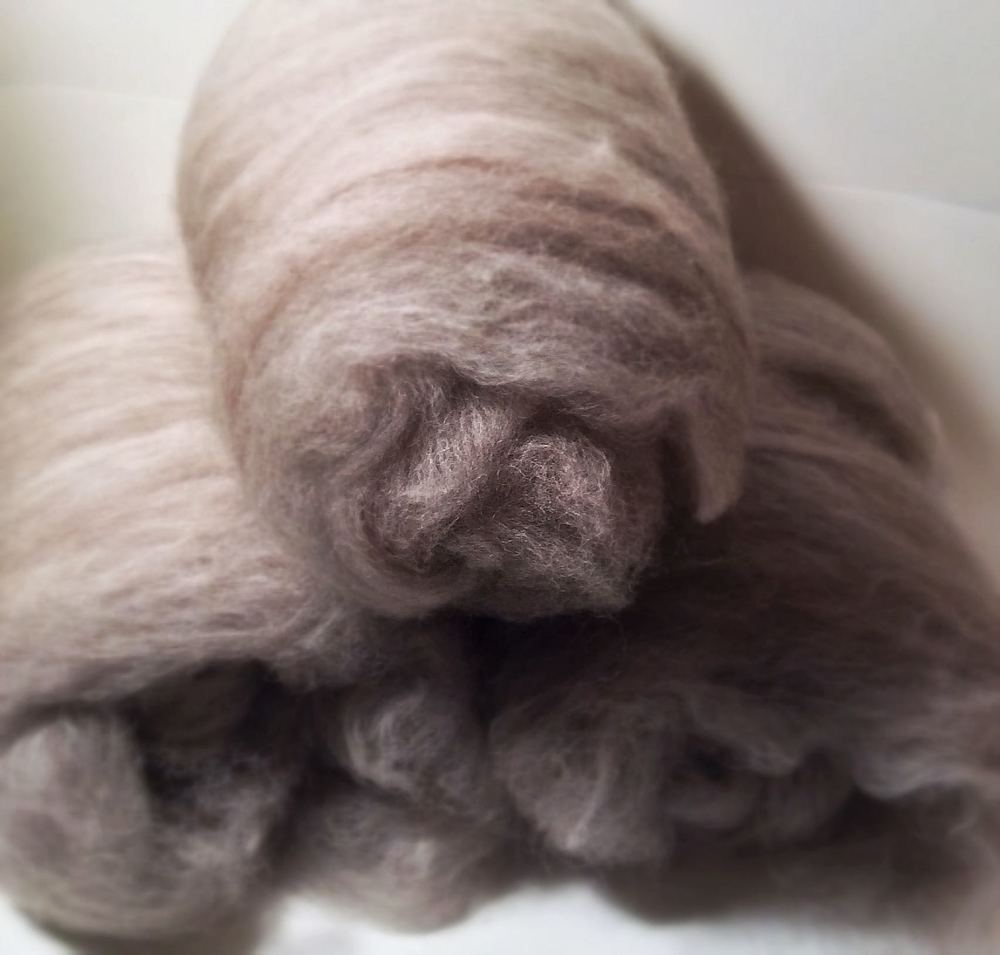 70/30 Alpaca/Merino batts