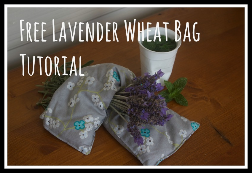 Lavender Wheat Bag Tutorial