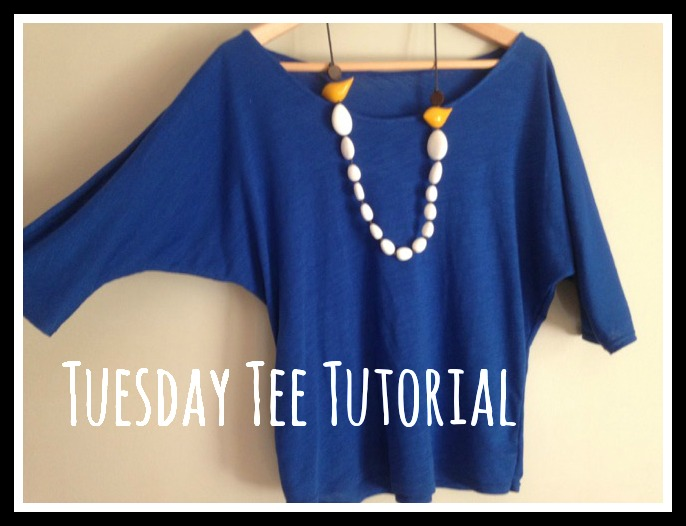 Tuesday Tee Tutorial