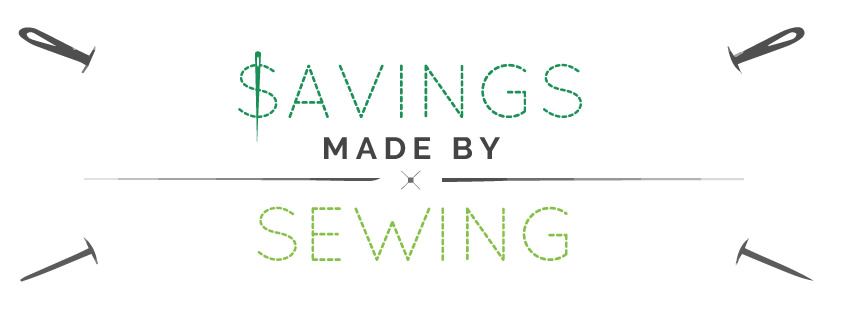 Savings made by sewing
