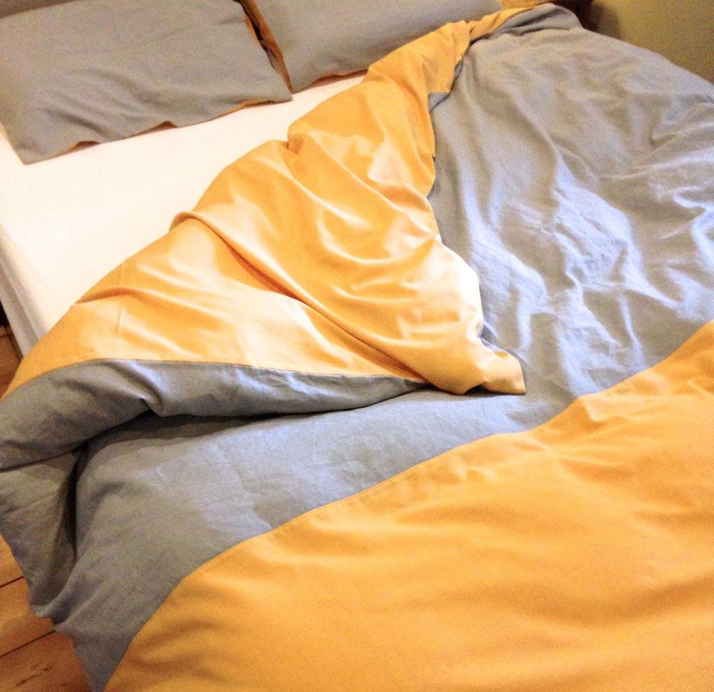 Handmade Linen Bed Sheets Tutorial