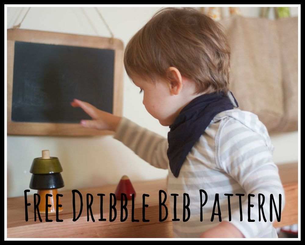 Free Dribble Bib Pattern and Tutorial — Willow and Stitch
