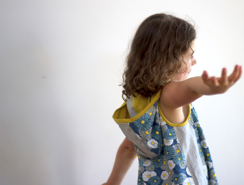 Momma Quail Pattern Tour | Zanzibar Shores Tank Top Dress by Willow & Stitch