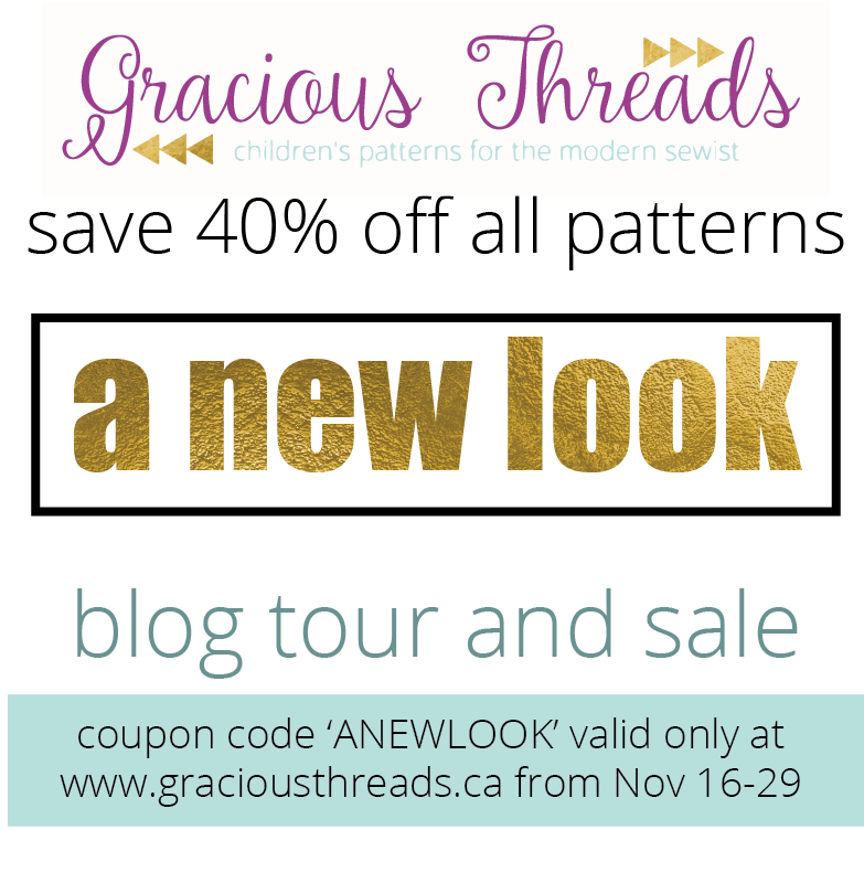 Gracious Threads - 'A New Look' Blog Tour