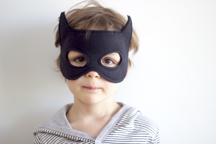 A Free Batman Mask Pattern for you! — Willow and Stitch