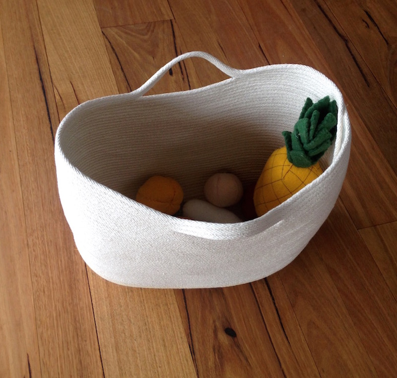 Sewing Rope Baskets | Try something new every month by Willow & Stitch