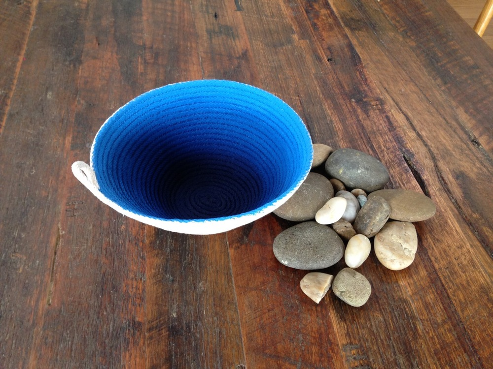 Painted Rope Bowl
