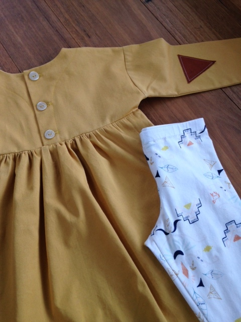 Oliver + S Playtime Dress by Willow & Stitch
