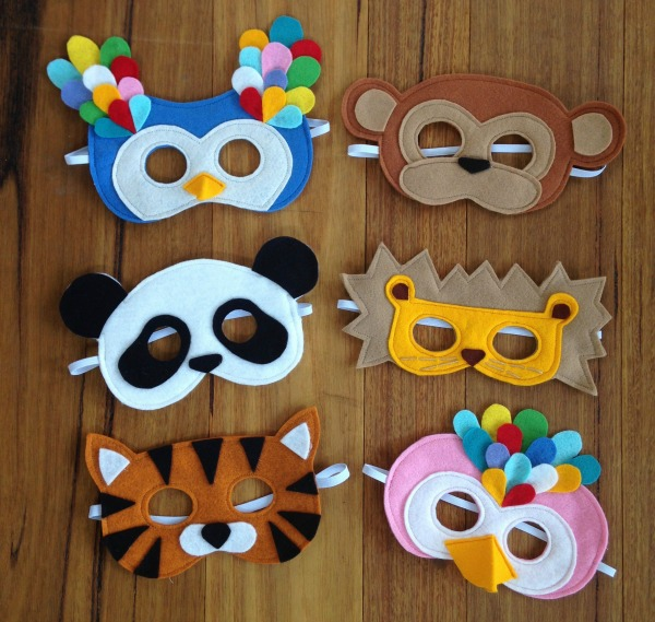 Masks for Seed photoshoot by Willow and Stitch