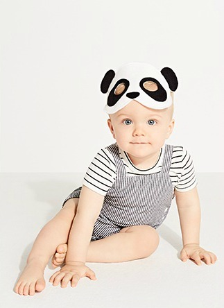 Panda Masks for Seed by Willow and Stitch