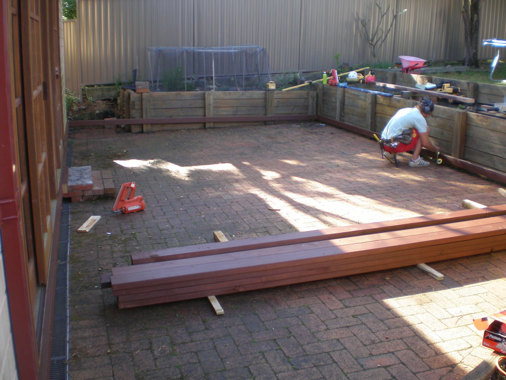 Deck Renovations (before) - Geoff & Tricia