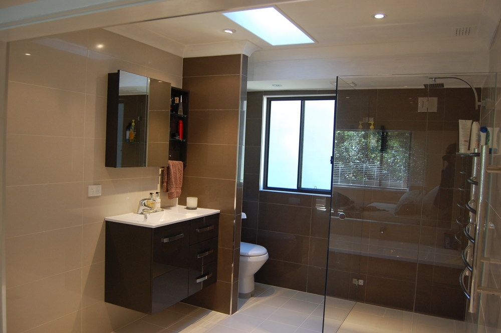 Bathroom Renovation (after) - Louise & James, Gymea Bay